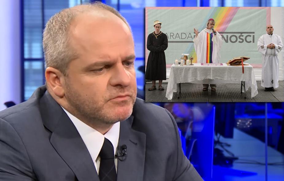 """Paweł Kowal o """"nabożeństwie"""" LGBTQ: podkręcanie napięć na skali emocji religijnych jest najgorszym, co można zrobić"""
