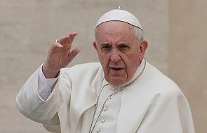 Papież Franciszek: kryzys klimatyczny wymaga działania tu i teraz