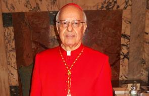 Kard. Lorenzo Baldisseri, sekretarz synodu, o tym czy zostanie zniesiony celibat