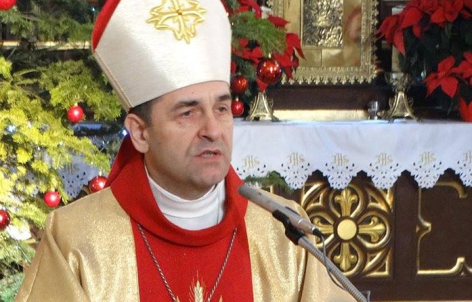 Życzenia przewodniczącego KEP dla biskupa drohiczyńskiego Piotra Sawczuka