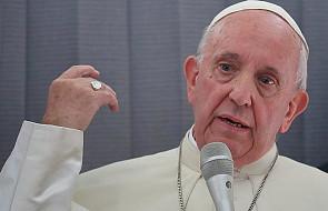 Papież Franciszek wezwał do wypowiedzenia wojny nękaniu