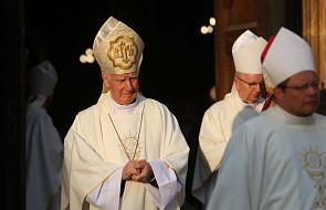 Życzenia abp. Gądeckiego dla bp. Ignacego Deca z okazji 50. rocznicy święceń