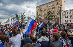 Rosja: trwają akcje protestu związane ze sprawą dziennikarza Gołunowa