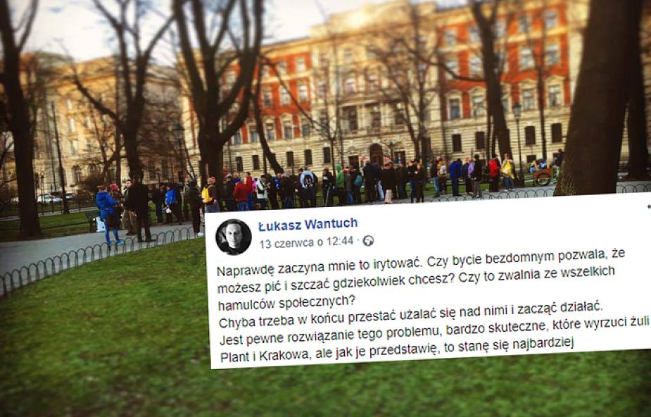 Zupa na Plantach: nie pozwolimy usunąć bezdomnych z centrum Krakowa