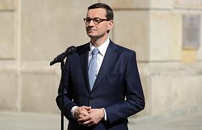 Premier Mateusz Morawiecki przybył do Drezna