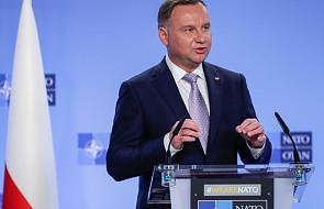 Prezydent Duda poinformował w NATO o rozmowach z Amerykanami ws. obecności wojskowej