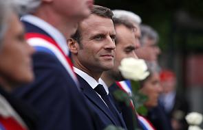 Francja: Macron uczcił rocznicę lądowania aliantów w Normandii