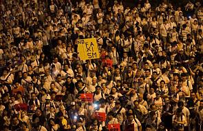 Olbrzymi protest w Hongkongu przeciw zmianom prawa ekstradycji