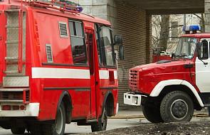 Rosja: duży pożar w elektrowni pod Moskwą, 11 osób rannych