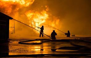 Rosja: w pożarze elektrowni pod Moskwą zginęła jedna osoba