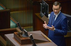 """Premier: projekt """"500 plus"""" dla niepełnosprawnych powinien być poza sporem politycznym"""
