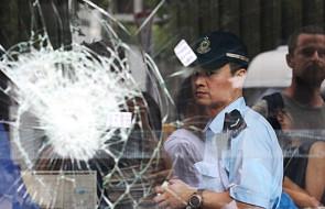 Pekin ocenia zamieszki w Hongkongu jako atak na jego zwierzchnictwo