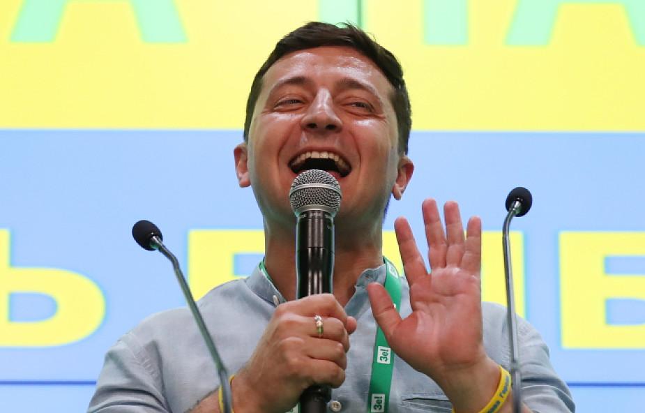 Ukraina / Exit poll: wybory parlamentarne wygrała partia Sługa Narodu