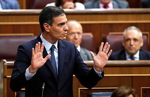 Hiszpania: rząd Sancheza bez wotum zaufania w pierwszym głosowaniu