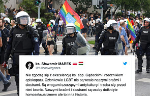 Ksiądz twierdzi, że osoby LGBT nie są naszymi braćmi. To jawny sprzeciw wobec słów abpa Gądeckiego oraz rzecznika KEP