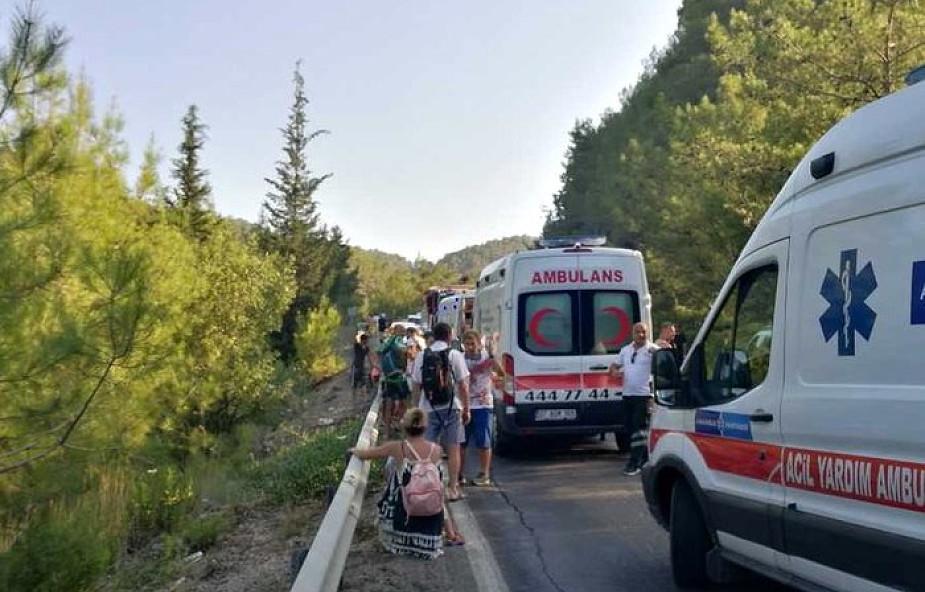 Rzeczniczka MSZ o wypadku w Turcji: 4 osoby opuściły szpital, 3 pozostałe w stanie stabilnym