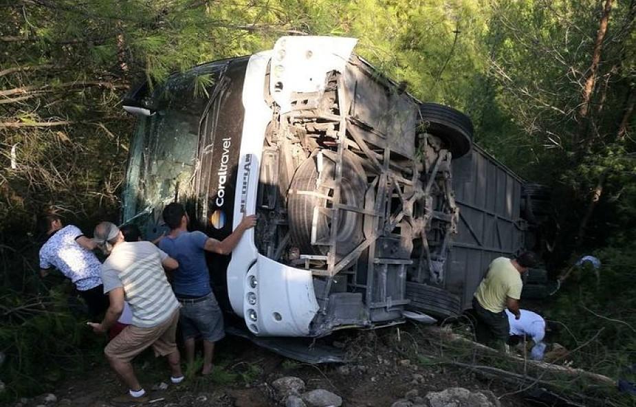 MSZ: w wypadku w Turcji ucierpiało 22 Polaków, jedna osoba w stanie zagrażającym życiu