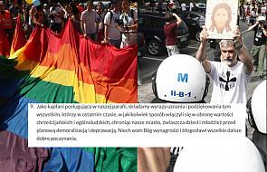Parafia w Białymstoku dziękuje chuliganom atakującym marsz LGBT? Jest wyjaśnienie kapłanów