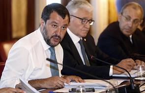 Salvini: Włochy nie będą nigdy dla Macrona obozem dla uchodźców