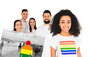 LGBT to Tomek, z którym grasz w siatkówkę - zobacz niezwykły projekt szerzący tolerancję