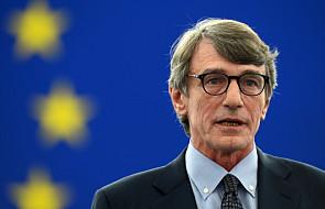 UE: włoski socjalista David Sassoli wybrany na szefa europarlamentu