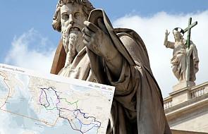 Ile kilometrów przebył święty Paweł? Ta mapa daje zupełnie nowe spojrzenie