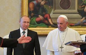 """""""Nowaja Gazieta"""": Putin bezsilny w sprawie wizyty papieża w Rosji"""