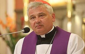Kard. Krajewski modlił się w Nowym Sączu za tragicznie zmarłego o. Piotra Matejskiego