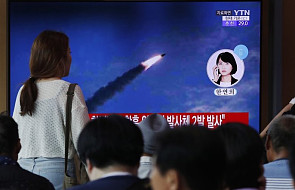 Korea Płn. wystrzeliła kolejne dwie rakiety balistyczne