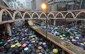 Rozpoczął się kolejny masowy marsz protestu przeciw władzom Hongkongu