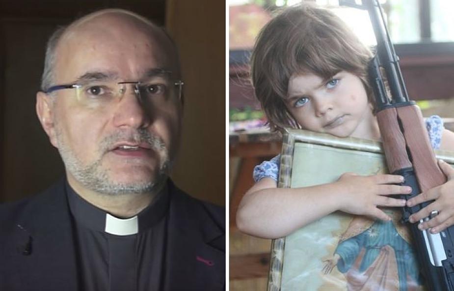 Ks. Draguła komentuje skandaliczne zdjęcie opublikowane na profilu franciszkanów z Niepokalanowa