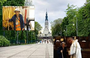 """95-latka pokonała ponad tysiąc kilometrów i dotarła do Częstochowy. """"To mnie uszczęśliwia"""""""