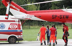 22 poszkodowanych podczas burzy w Tatrach nadal w szpitalach