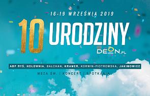 Zapraszamy na 10. urodziny DEON.pl!