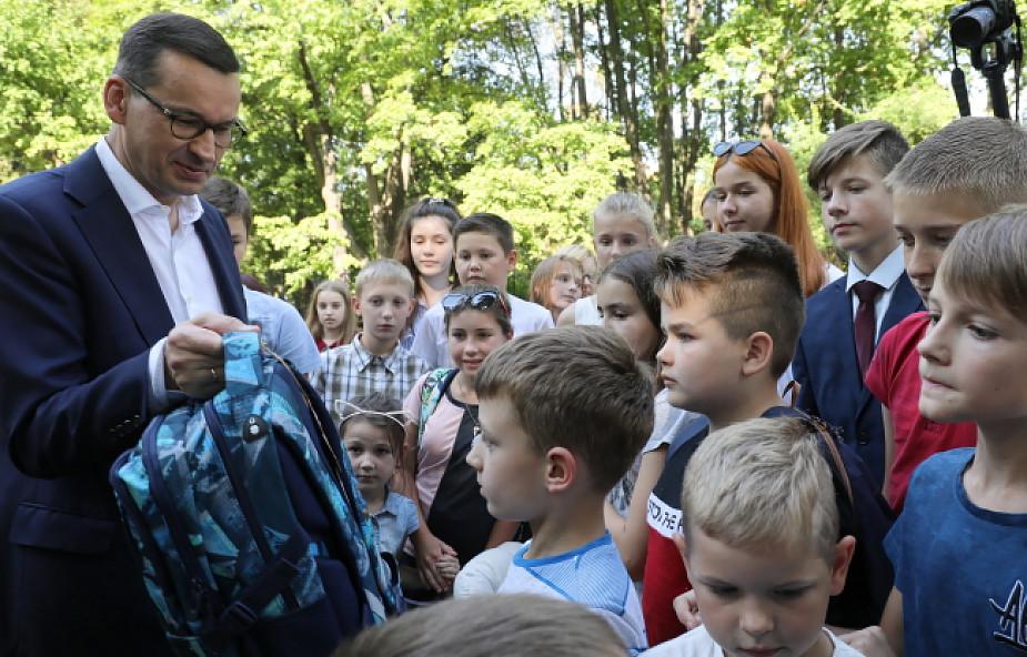 Premier do dzieci polonijnych: jesteście we własnym kraju