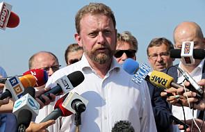 Minister Szumowski: wyniki badań wody są dobre, ale jej zagotowanie nie zaszkodzi