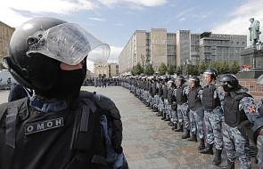 Rosja: opozycjonistka zatrzymana przed rozpoczęciem protestów w Moskwie