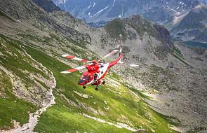 124 poszkodowanych turystów w Tatrach od początku wakacji