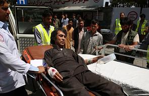 Afganistan: prawie 100 rannych w wybuchu samochodu pułapki w Kabulu