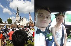 Podróż poślubna na piechotę. Agata i Michał zaczynają wspólną drogę na pielgrzymce
