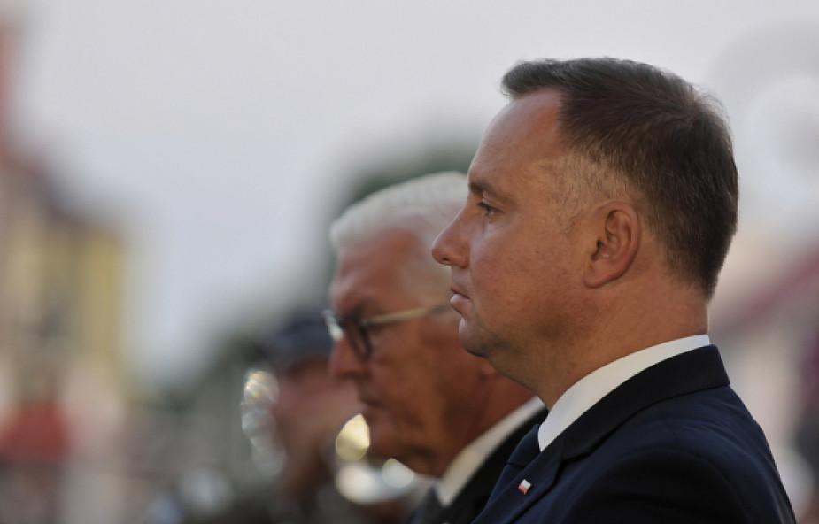 Duda: pamiętając o historii będziemy mogli budować przyjaźń Polaków i Niemców