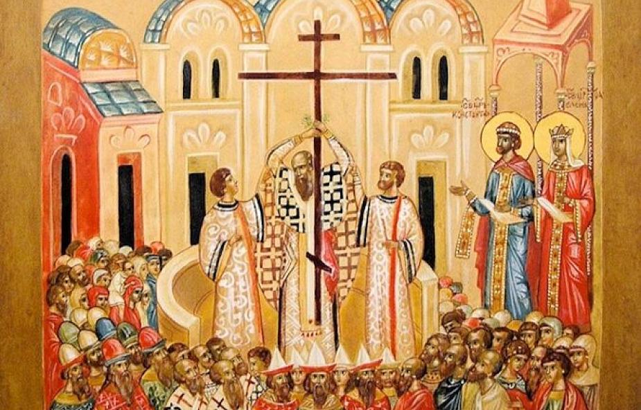Stań pod krzyżem. Medytacja nad ikoną Podwyższenia Krzyża Świętego