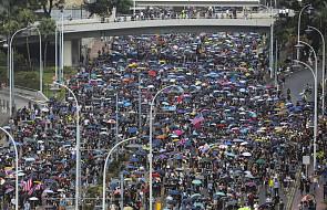Tysiące osób wyszły na ulice Hongkongu mimo zakazu demonstracji