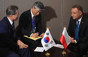 ONZ: Andrzej Duda spotkał się z prezydentem Korei Płd.