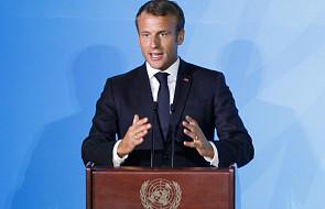 Macron: Francja nie może przyjąć wszystkich migrantów, jeśli chce to zrobić dobrze