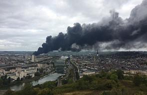 Francja: ugaszono pożar w zakładach chemicznych Lubrizol w Rouen