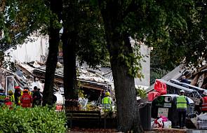 Dwie osoby wydobyto spod gruzów zawalonych budynków w Antwerpii