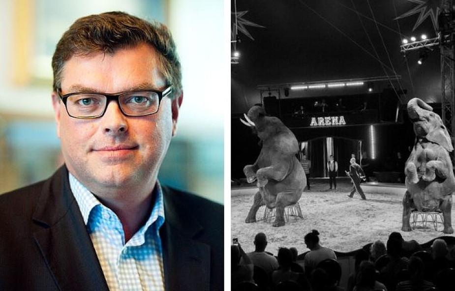 """Duński minister środowiska uratował cztery słonie. """"Miejsce dzikich zwierząt nie jest w cyrku"""""""
