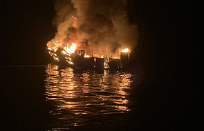 USA: 25 ofiar śmiertelnych po pożarze statku u wybrzeży Kalifornii