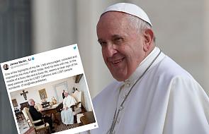 Papież przyjął na prywatnej audiencji Jamesa Martina SJ, duszpasterza katolików LGBT